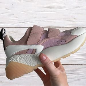 Pink And white Stella McCartney shoes Size 8